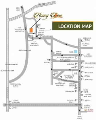 Honey Honey Dew Location Plan