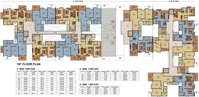 Sancheti Dreamcastle Cluster Plan