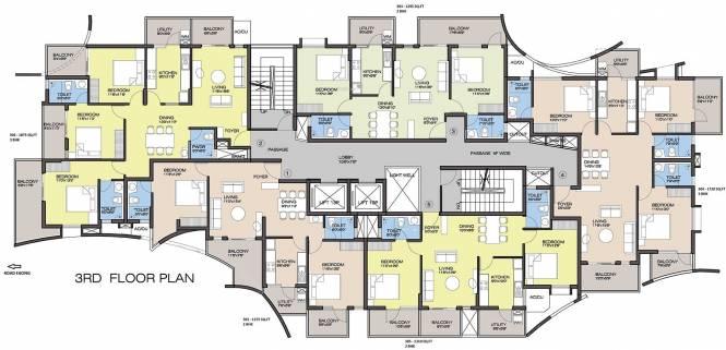 Landmark Grand City Cluster Plan