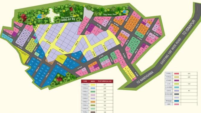 Peram Aditya Royal Layout Plan
