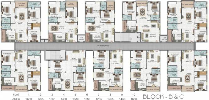 Sri Maruthi Builders And Developers Elite Cluster Plan