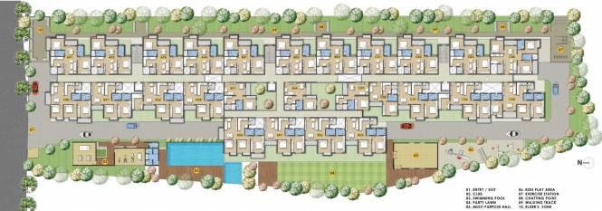 Subha Essence Cluster Plan