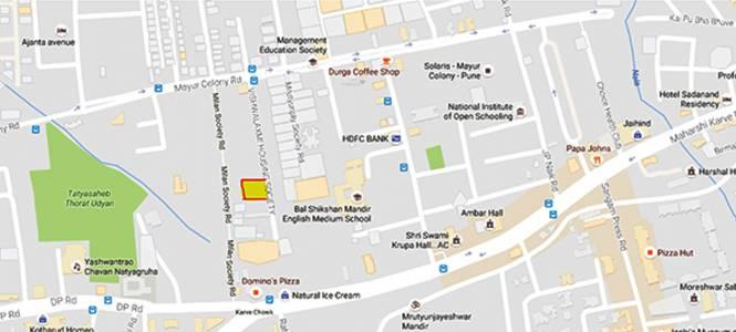 Gokhale Pooja Rajas Location Plan