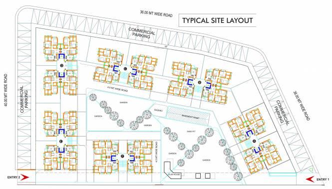 Sun South West Site Plan