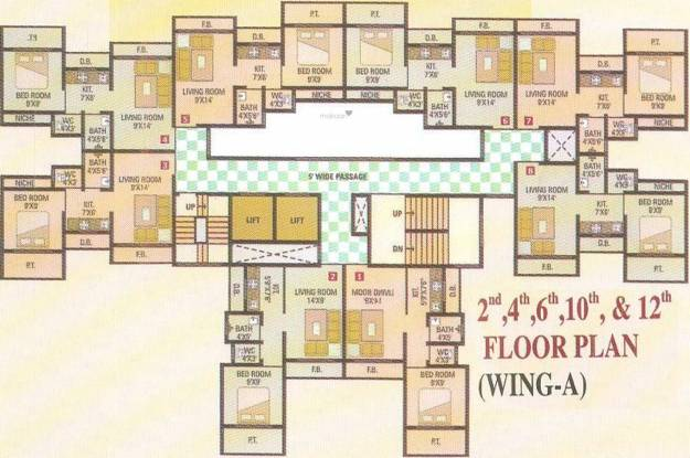 Rudrani Star Heights Cluster Plan