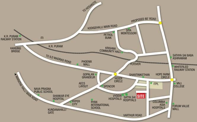 SVP Sunshine Location Plan