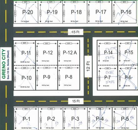 Om Greno City Layout Plan
