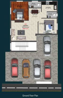 Four Faustino Square Cluster Plan