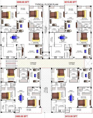 Sravanthi Blue Bell Cluster Plan