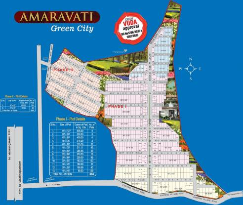 Bhoomatha Amaravati Green City Layout Plan