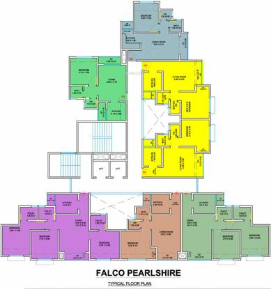 Falco Pearlshire Cluster Plan