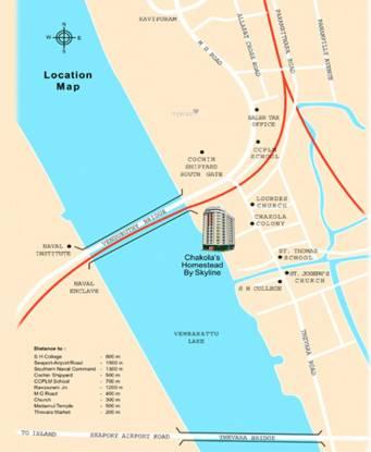 Skyline Homestead Location Plan