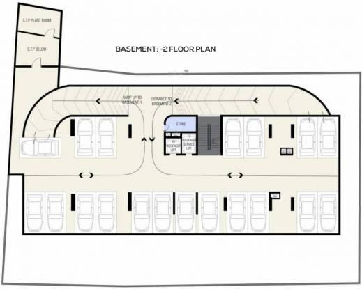 Nucleus Matrix Sky Villas Apartments Cluster Plan