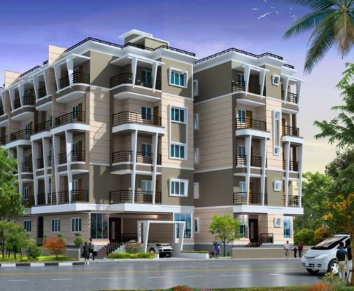 Aryan Builders And Developers Bangalore Arya Heights Elevation