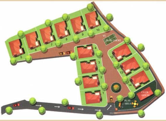 Skyline Queens Park Layout Plan