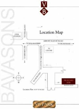 Bavasons V B Park Location Plan