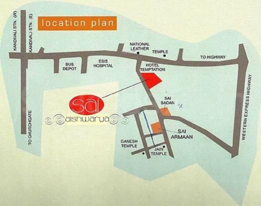 Akshay Sai Aishwarya Location Plan