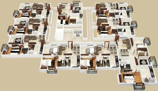Prakruthi Akshara Cluster Plan