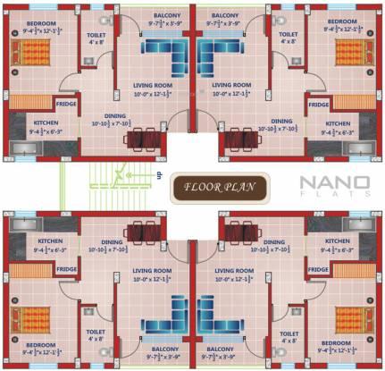 Rajul Nano Flats Cluster Plan