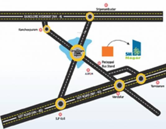 JHL SM Nagar Location Plan