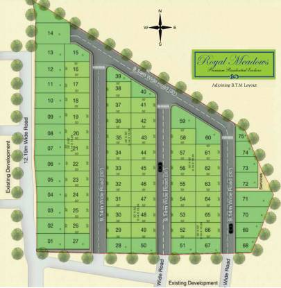 RS Royal Meadows Layout Plan