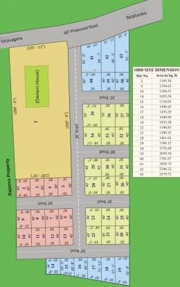 Akshaya Balaji Gardenia Layout Plan