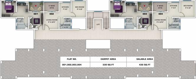 Swaraa Malhar City Cluster Plan