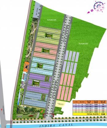 Ashirwad Shri Sai Bhumi Enclave Layout Plan