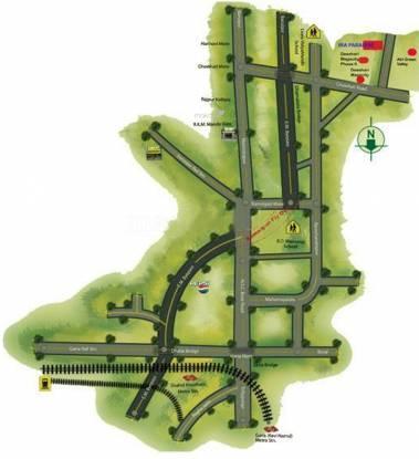 Kolkata Ira Paradise Apartment Location Plan