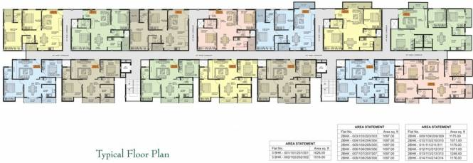 Sapthagiri Himalayan Enclave Cluster Plan