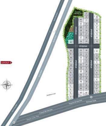 Praneeth Pranav Blooms Layout Plan