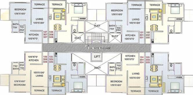 Anutej Siddhivinayak Manas Cluster Plan