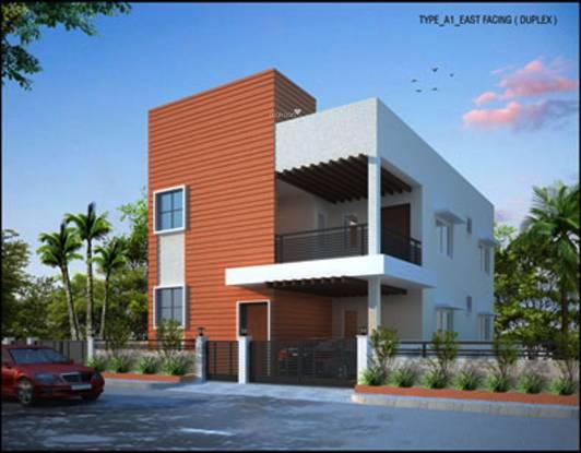 Modi AVR Gulmohar Homes Elevation