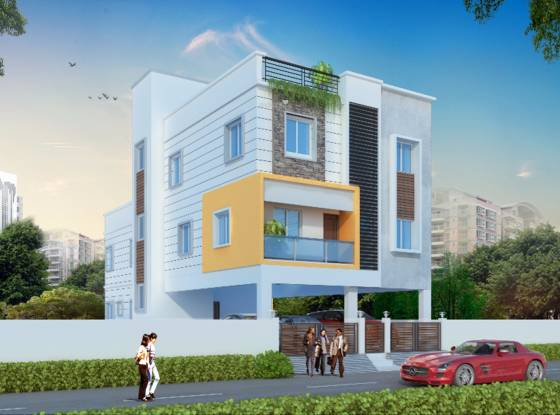 Sekaran Studio 6 Apartment Elevation