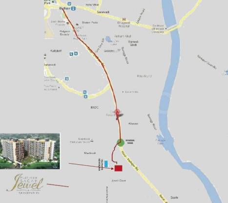 Sagar Platinum Sagar Jewels Location Plan