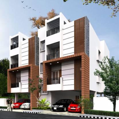 Malles Akankssha Apartment Elevation