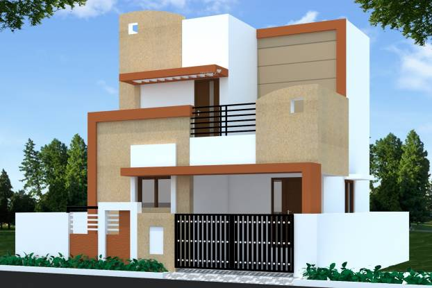 Bharath Independent Villas Elevation
