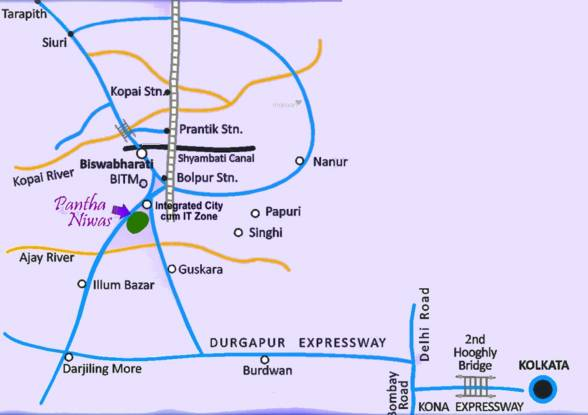 Sree Balaji Panthaniwas Phase 3 Location Plan