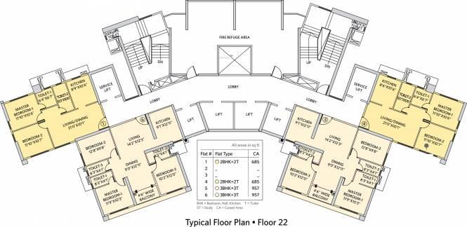 Siddha Seabrook Cluster Plan