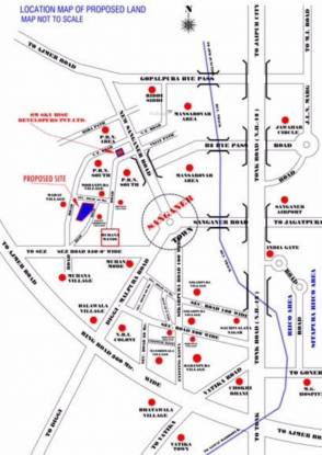 Uday Nand Ganv II Location Plan