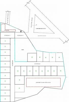Aalayam Imperial Villas Layout Plan