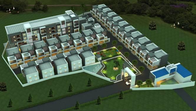 Aalayam Imperial Villas Elevation