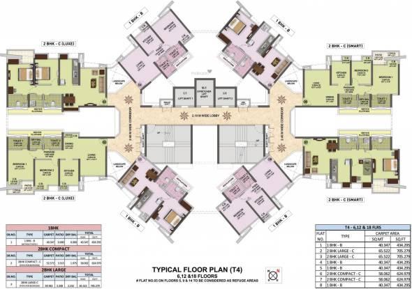 Puraniks City Reserva Phase 1 Cluster Plan