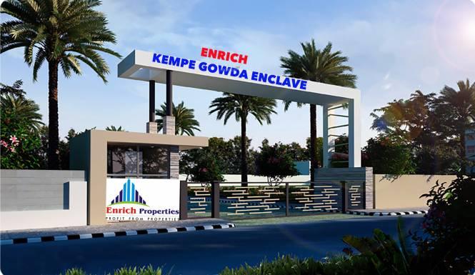 Enrich Kempegowda Enclave Elevation