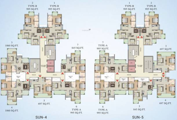 Migsun Twiinz Cluster Plan