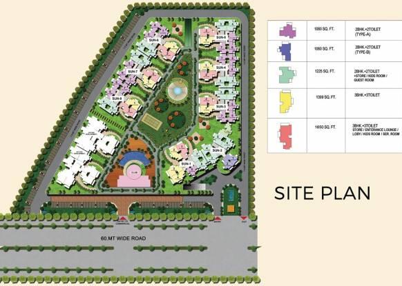 Migsun Twiinz Site Plan