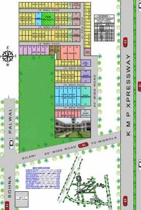 S K Real Tech Sai Dham K Block Layout Plan