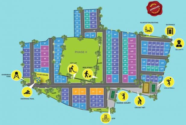 Icon Vensai Icon Temple Tree Layout Plan