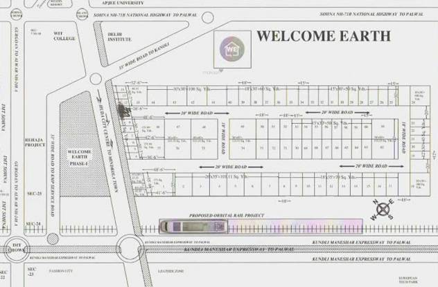Welcome Earth Kanoli Phase 2 Layout Plan