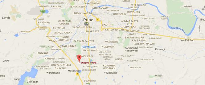 Prakalpa Swapna Tirtha Location Plan